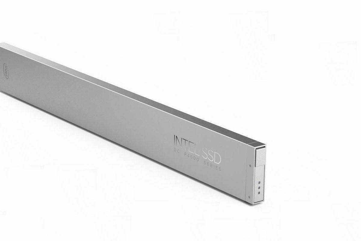 Intel Announces 'Ruler' Form Factor for Data Center SSDs