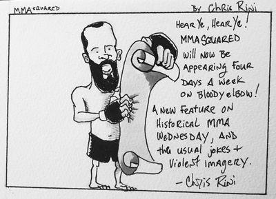 MMA Squared, Chris Rini, Special Announcement, Caption Winner