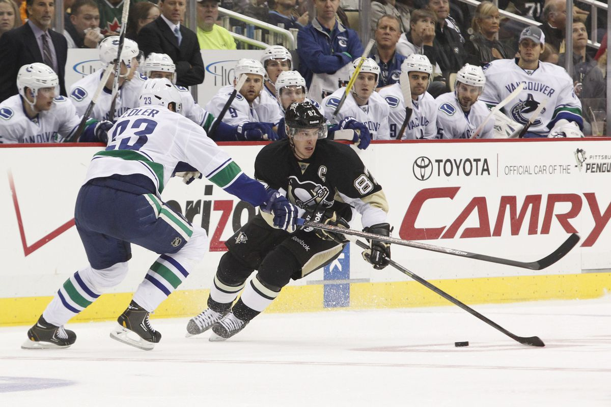 Poor Edler.  He'll probably see a lot of Sid tonight.