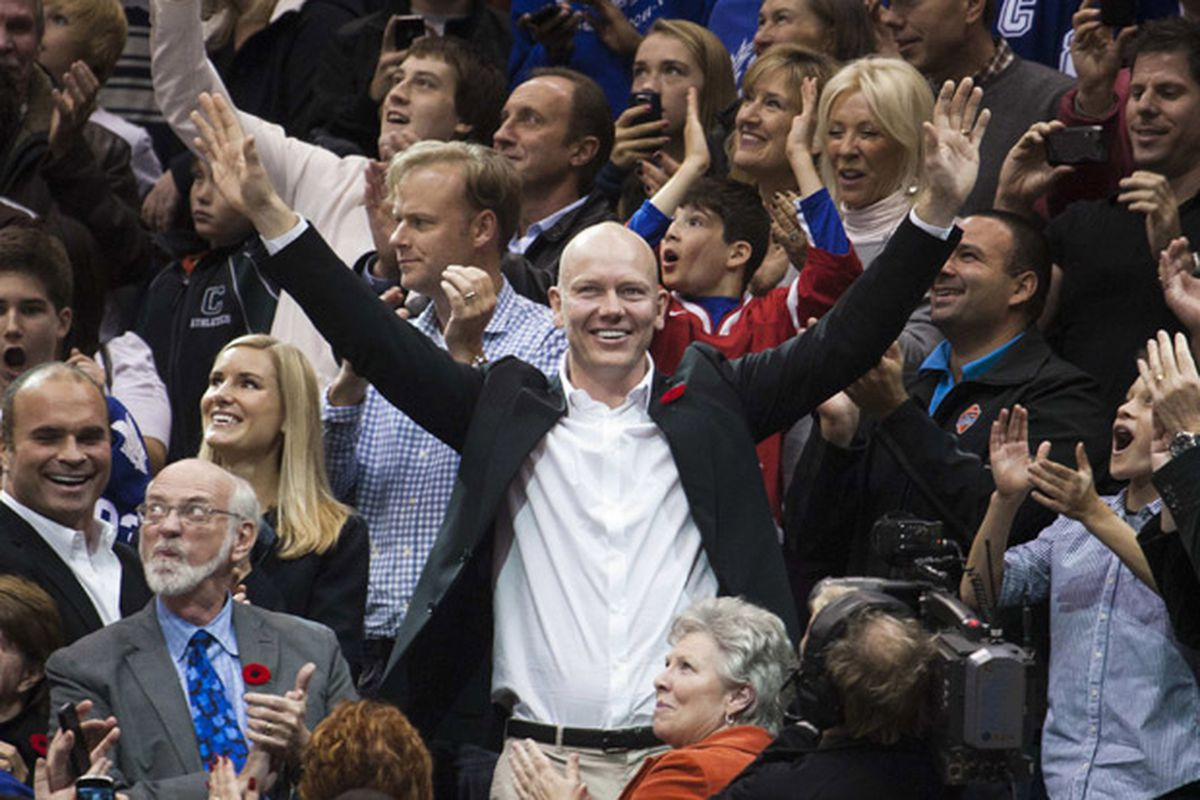 """Who has a bald head and owns the Senators?"""
