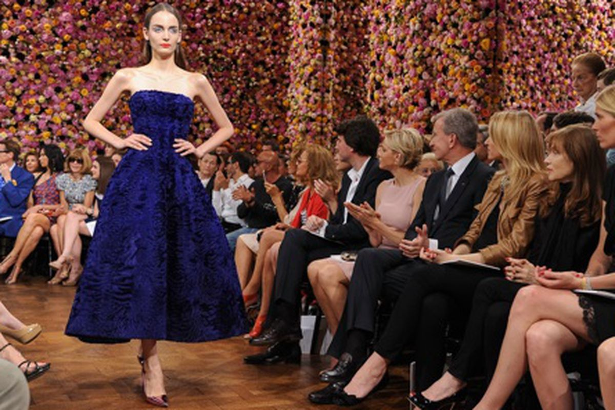 Christian Dior Haute-Couture Fall/Winter 2013, via Getty