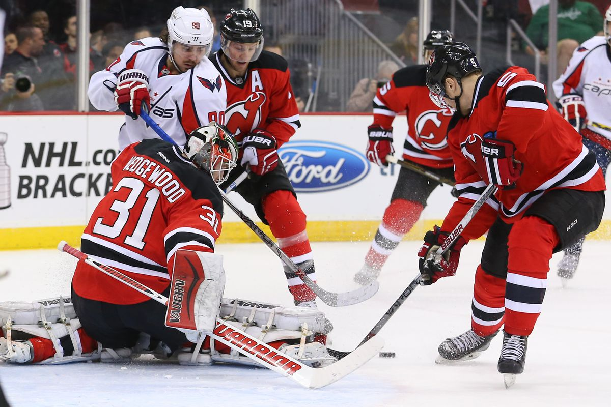 Yeah, this picture sums it up.  No, the Capitals didn't get to this loose puck.