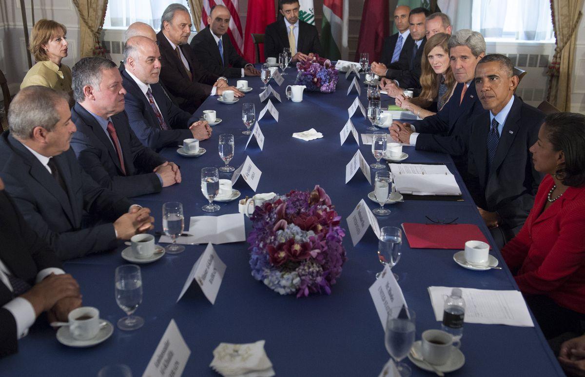 Obama UN Coalition Mtg