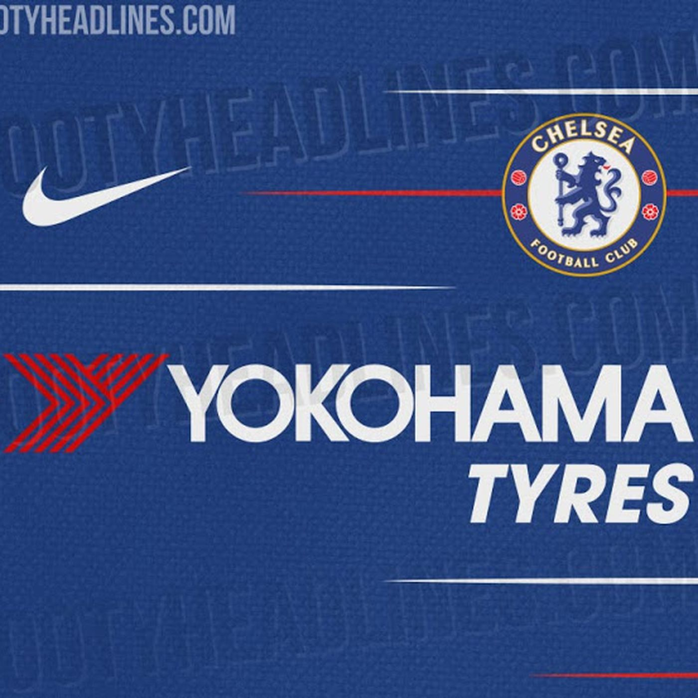 sale retailer 9d98a e7ffe Kit leak: Nike 2018-19 Chelsea home shirt set to have more ...