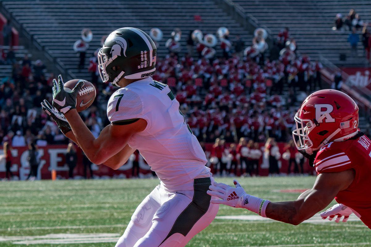 COLLEGE FOOTBALL: NOV 23 Michigan State at Rutgers