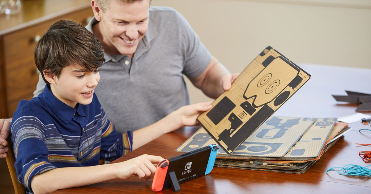 Nintendo Labo reveal teased a lot of unannounced Toy-Cons