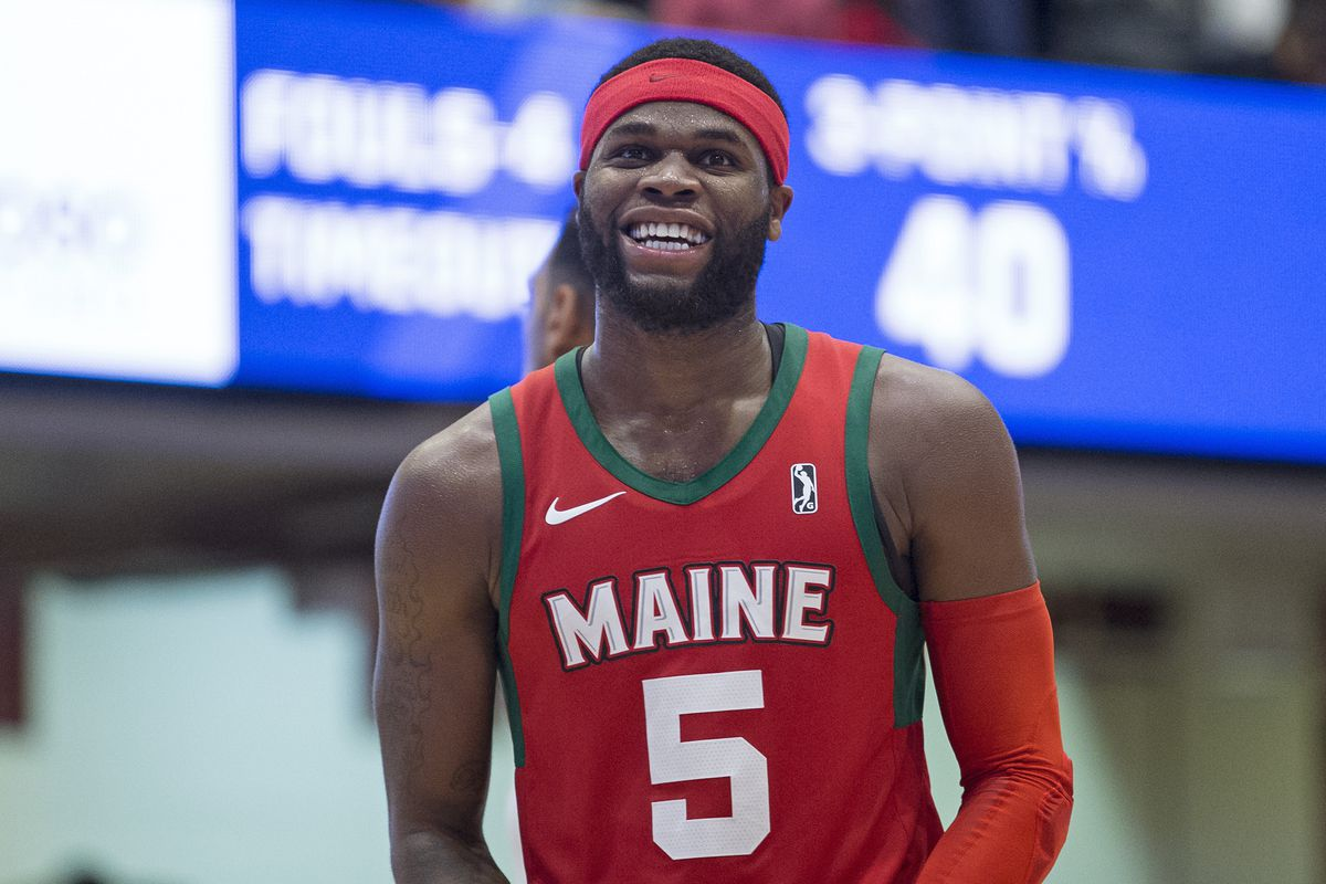 info for d05cb 4dd61 Highlights: Kadeem Allen scores 46 points for the Maine Red ...
