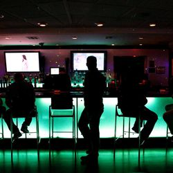Air Bar, located on the 108th floor of the Stratosphere in Las Vegas on Thursday, April 5, 2012.