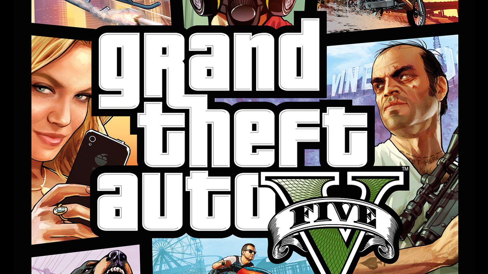 Gta 6 Cover: Grand Theft Auto 5 Cover Art Follows The Series' Blueprint