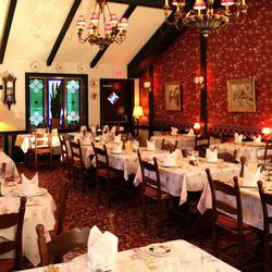 """L'Auberge Chez Francois is another classic example of an iconic dining room, channeling France from its home in Great Falls. It is Alsatian through and through and a great setting for romantic occasions. [Photo: <a href=""""https://www.facebook.com/photo.php"""