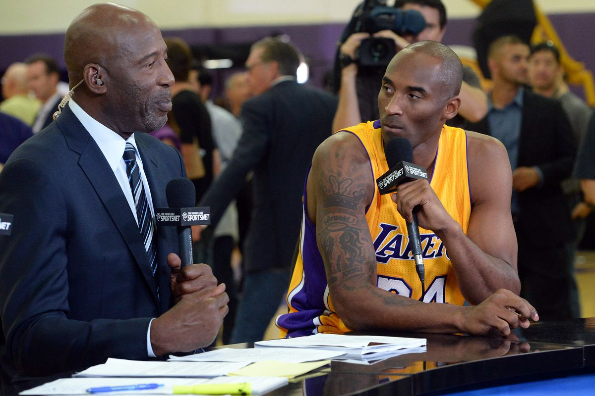 James Worthy: 'I know Kobe [Bryant] wants 6 championships ... he wants to tie Michael [Jordan ...