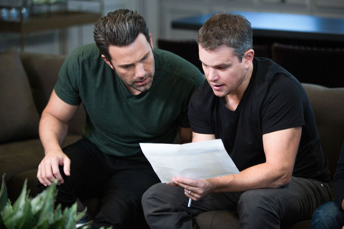 Matt Damon (right) is a producer of Project Greenlight, along with Ben Affleck.
