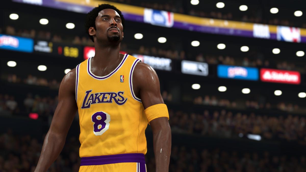 Kobe Bryant appears to NBA 2K21.