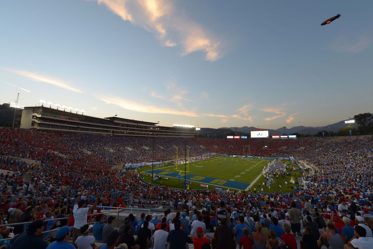 Preparing for another season at the Rose Bowl