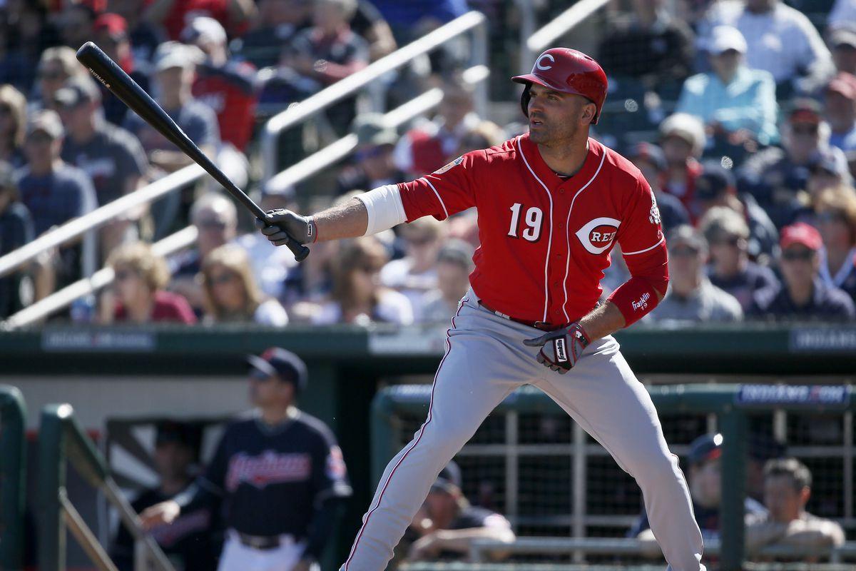 MLB: Spring Training-Cleveland Indians at Cincinnati Reds