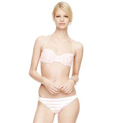 """For extra support, try something with structured underwire like <b>Shoshanna's</b> Seven Lakes Bra Top, <a href=""""http://www.clubmonaco.com/product/index.jsp?productId=33764266"""">$125</a> at Club Monaco"""