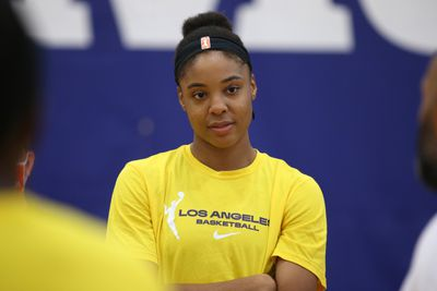 Los Angeles Sparks Practice