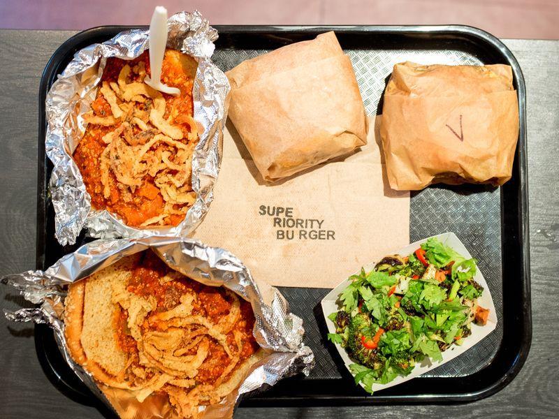 superiority burger food