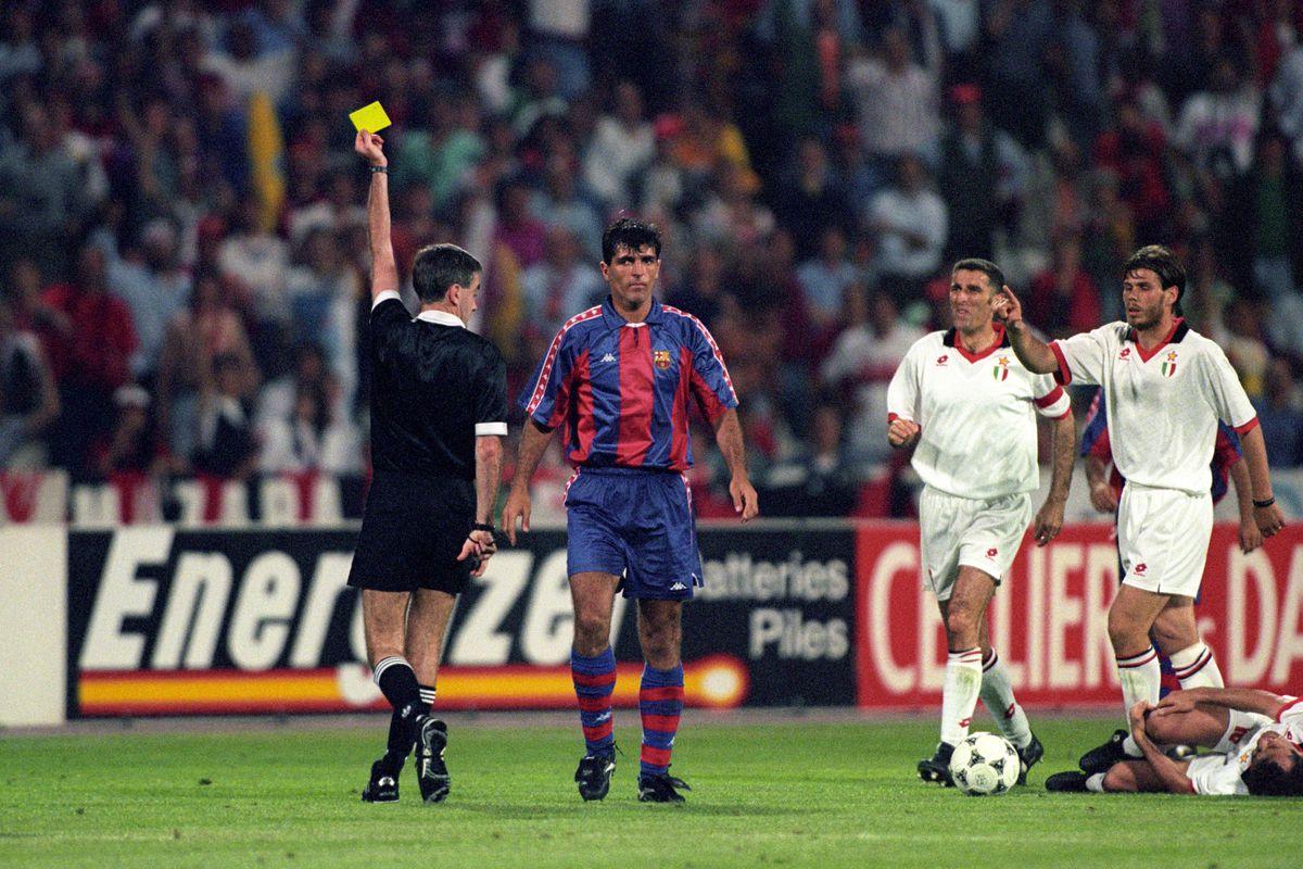 Soccer - UEFA Champions League 1993–94 - Final - AC Milan v Barcelona - Olympic Stadium, Athens