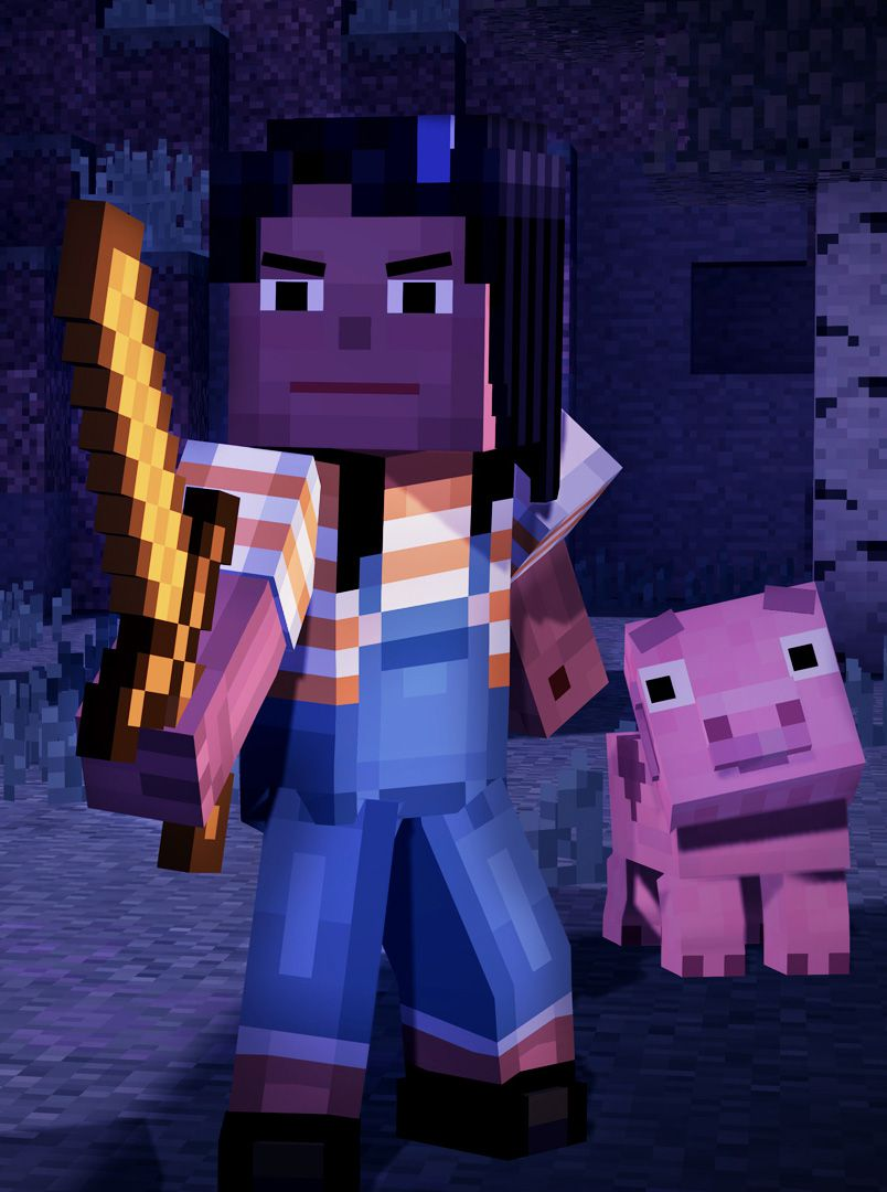 minecraft story mode ep 1 tall screen 1