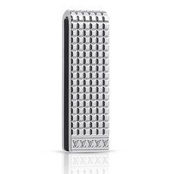 "<strong>Louis Vuitton</strong> Digit Bill Clip in Palladium/Steel, <a href=""http://www.louisvuitton.com/front/#/eng_US/Collections/Men/Accessories/Key-holders-and-more-accessories/products/Digit-Bill-Clip-M65061"">$390</a>"