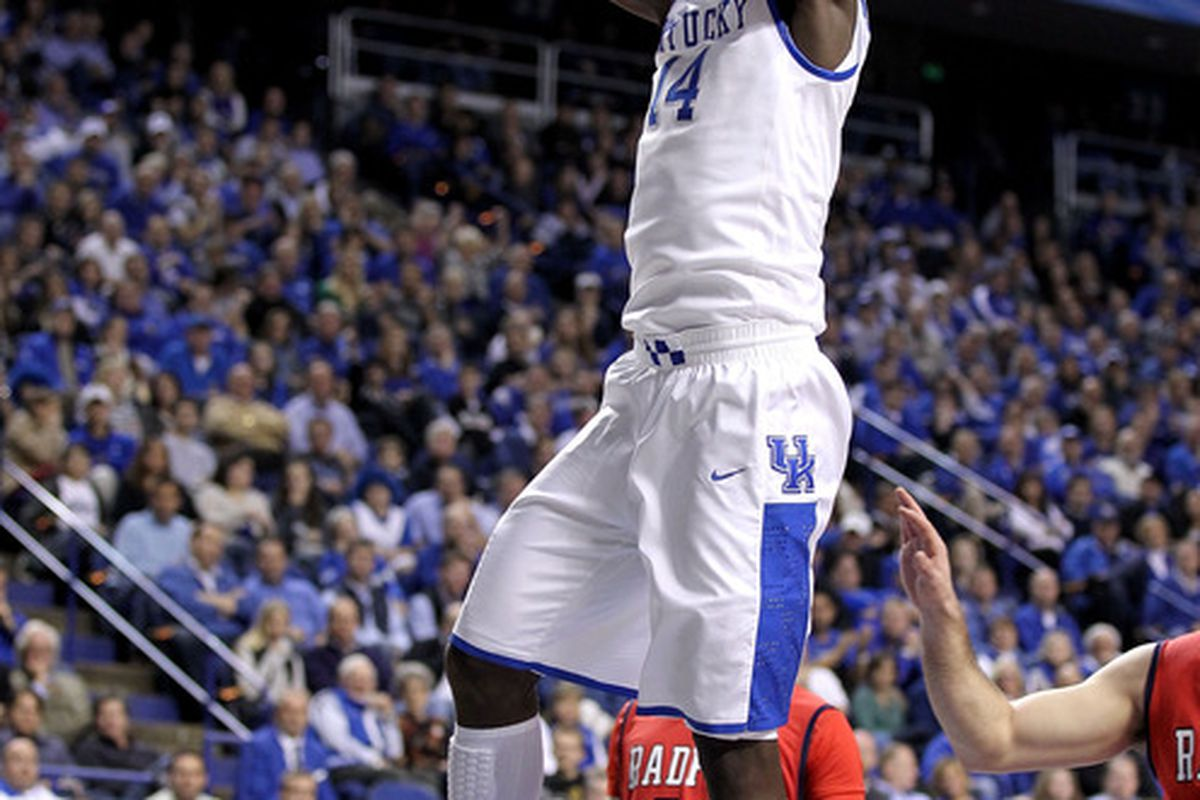 Shabazz Muhammad could be replacing Michael Kidd-Gilchrist on the wing next year if Kidd-Gilchrist leaves as expected and Muhammed comes to UK.