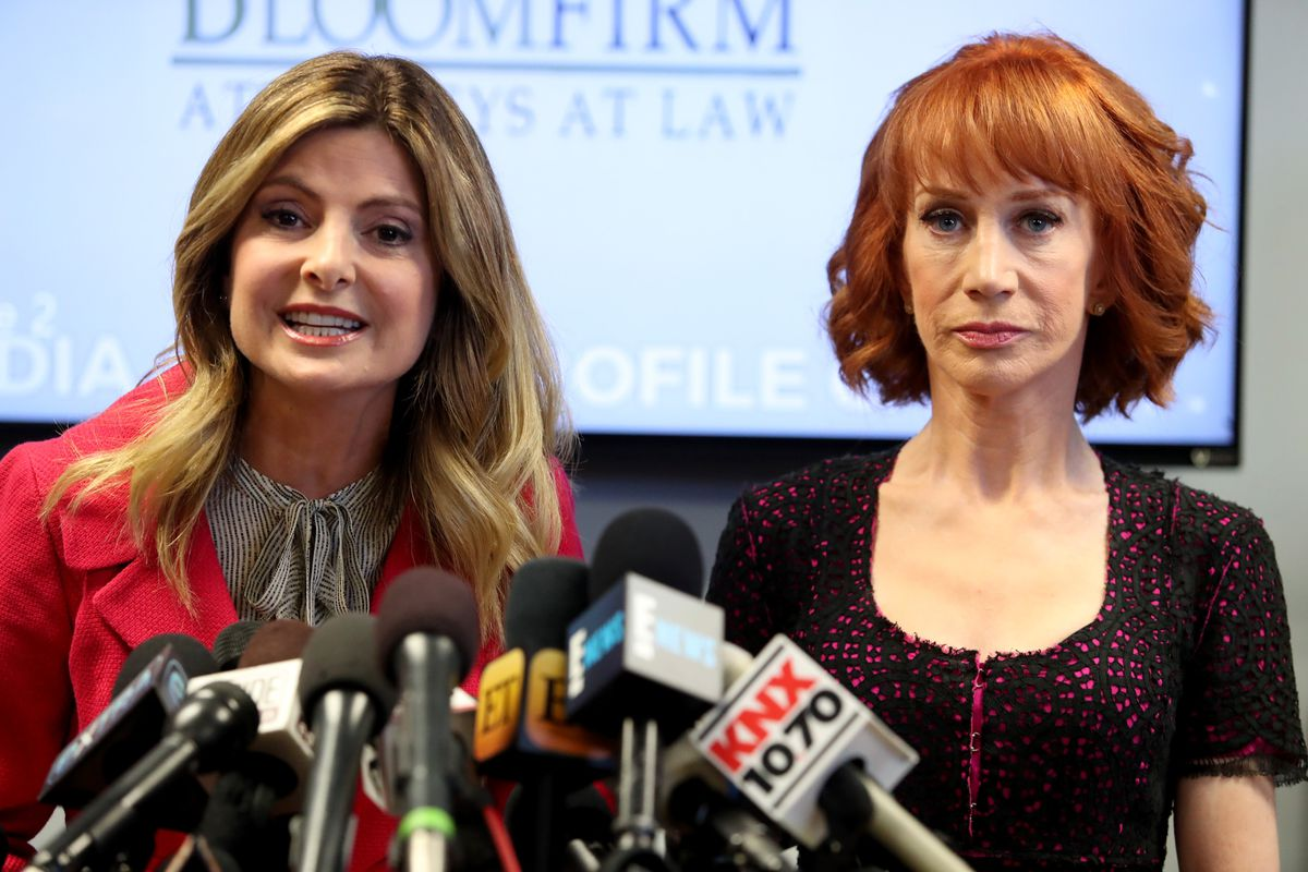 Lisa Bloom and Kathy Griffin