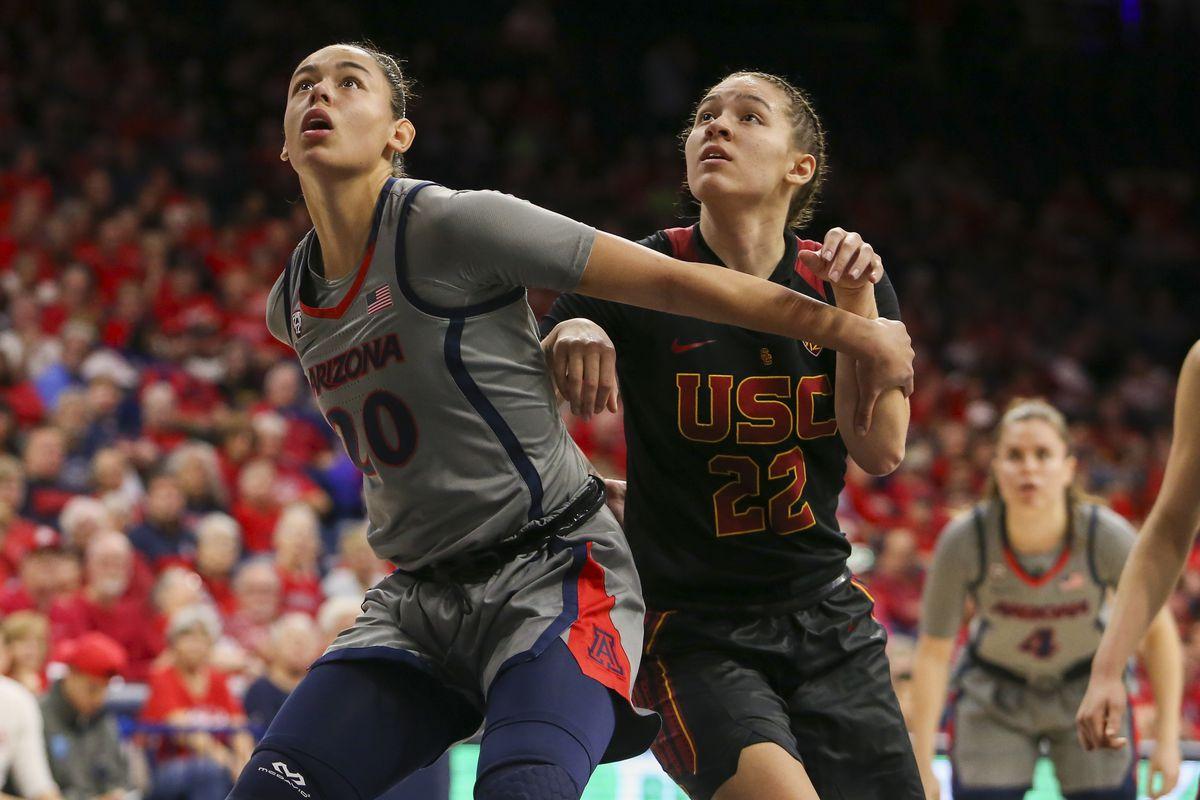 COLLEGE BASKETBALL: FEB 02 Women's USC at Arizona
