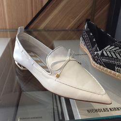 White loafers, $174 (originally $580)
