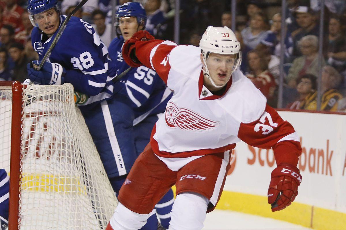 NHL: Preseason-Detroit Red Wings at Toronto Maple Leafs