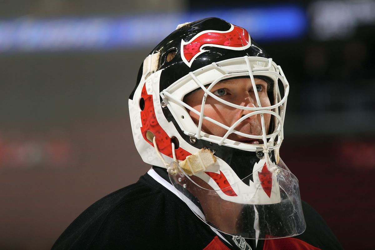 Martin Brodeur in Montreal.  It's on.