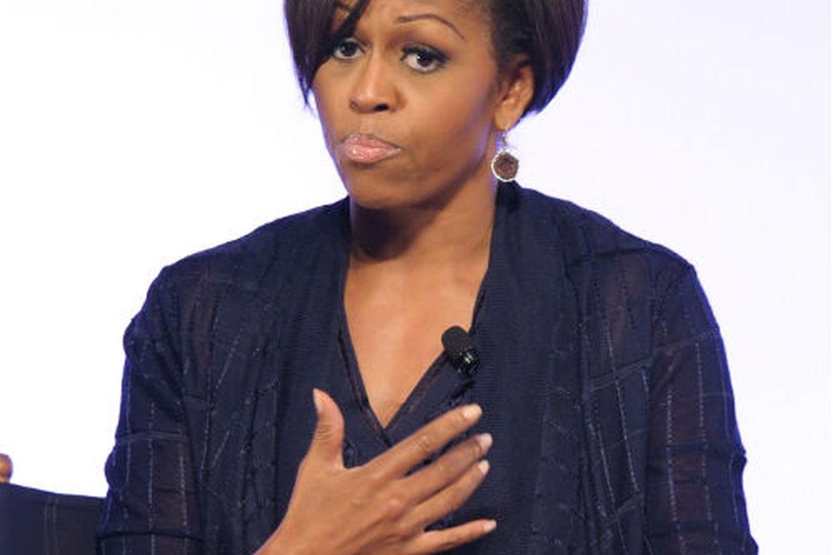 Michelle Obama, via Getty