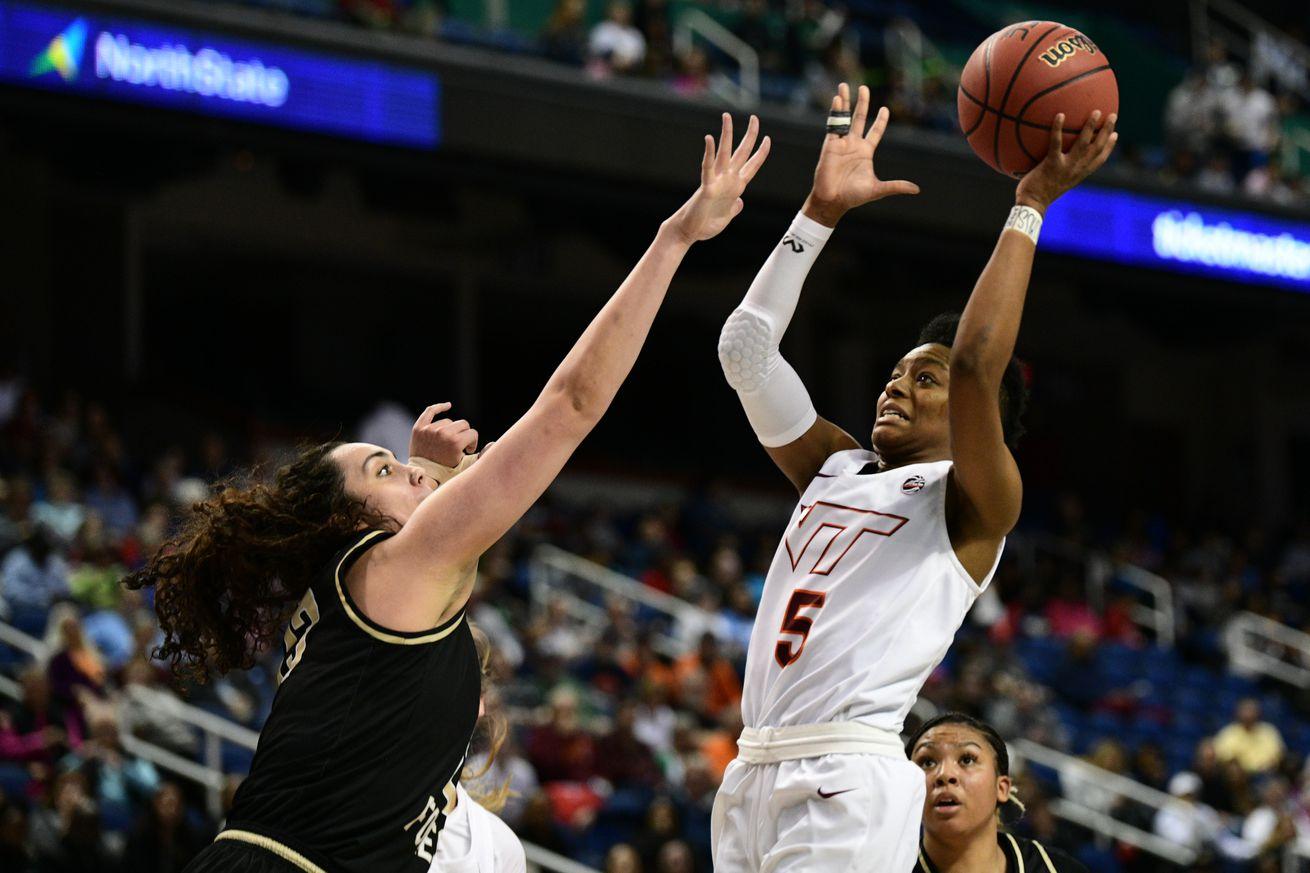 COLLEGE BASKETBALL: MAR 05 ACC Women's Tournament - Wake Forest v Virginia Tech
