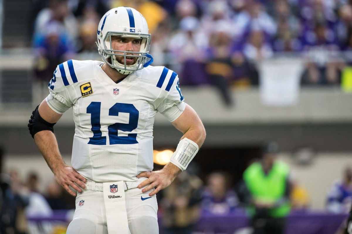 "Jim Irsay ""Andrew Luck likely out for opener"" Stampede Blue"