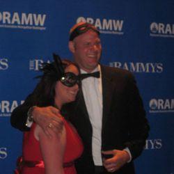 Scott Drewno and wife Allison.