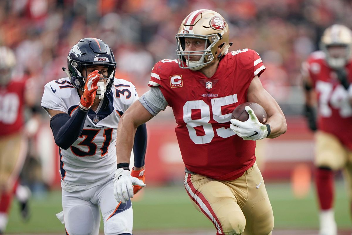 low priced 001cc 3cf1e 49ers TE George Kittle is the NFL's next great tight end ...