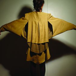 """<a href=""""http://notaligne.tumblr.com/what"""">NOT</a> describes itself as """"a studio focused on the experience of dressing: the constant dialogue between garment and wearer as they transform each other."""""""