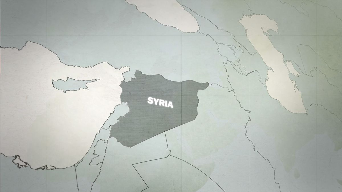 Watch A Minute History Of Syrias War And The Rise Of ISIS Vox - Syria world map