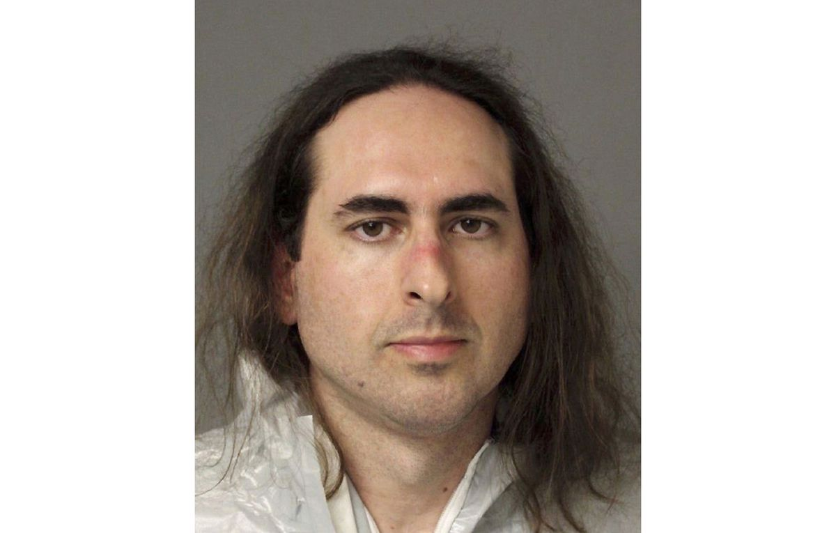 This June 28, 2018, file photo provided by the Anne Arundel Police shows Jarrod Ramos in Annapolis, Md.