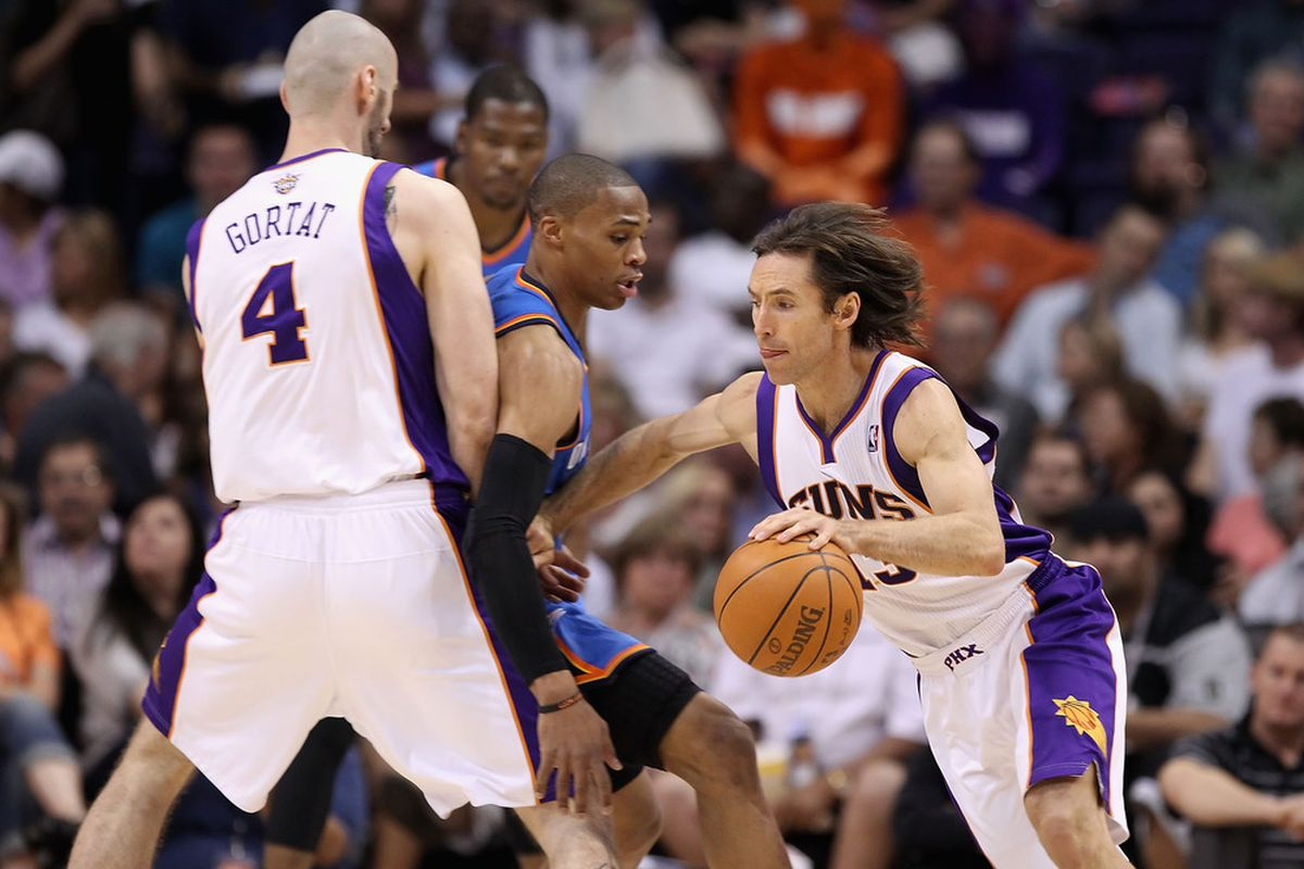 The play that the Suns will be running all game.