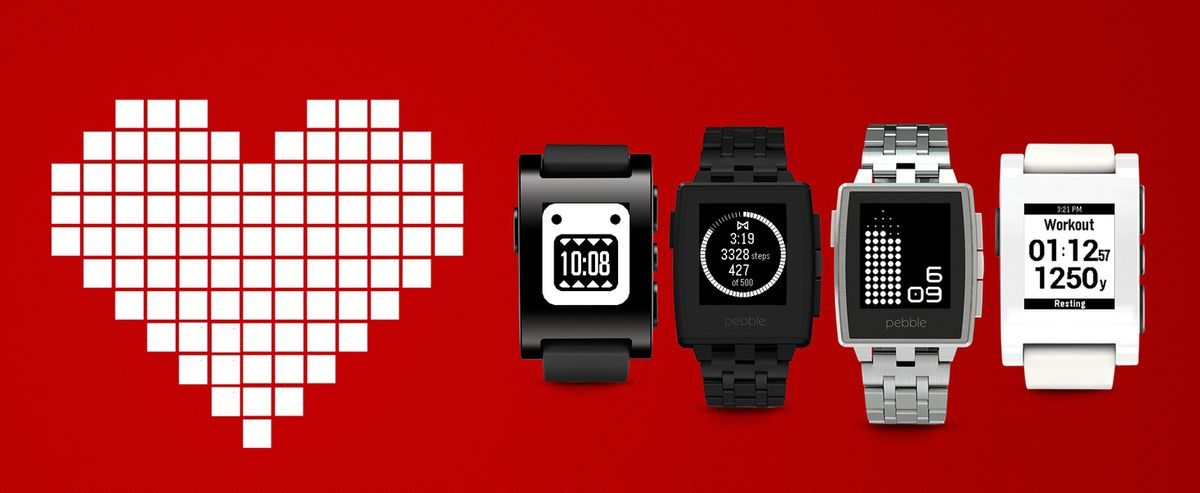 Pebble fitness tracking
