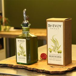 """The new United terminal at SFO offers plenty of gift options, including the small-batch olive oils from <a href=""""http://mcevoyranch.com/"""">McEvoy Ranch</a>; all photos by Brendan Cooney"""