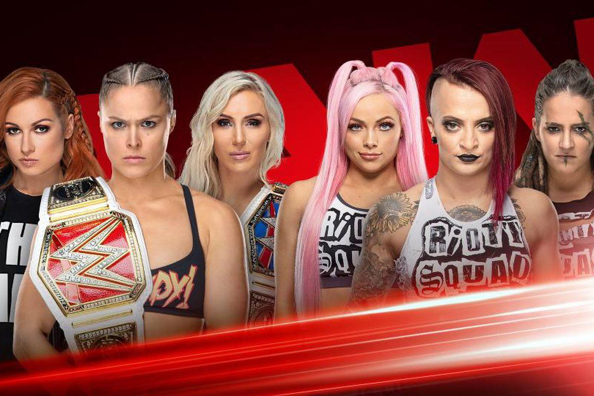 super popular f11be e3100 WWE Raw results, live blog (April 1, 2019)  WrestleMania go home show