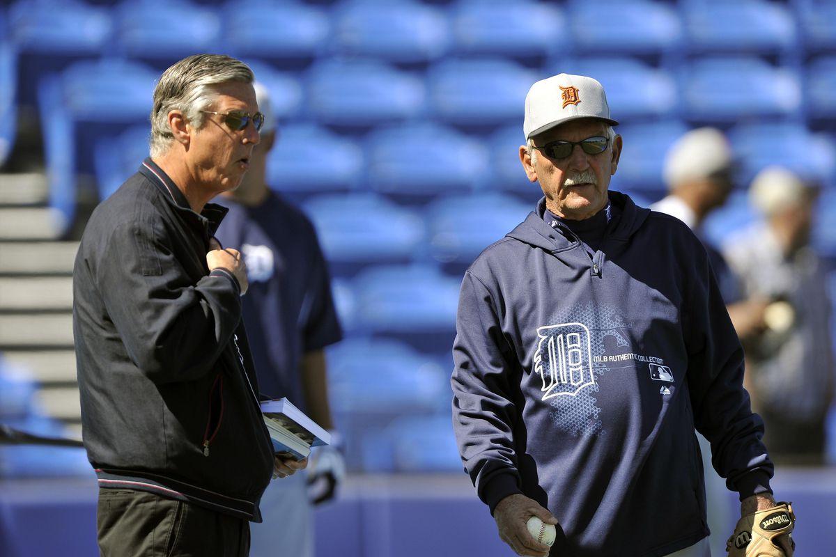 Dave Dombrowski and Jim Leyland