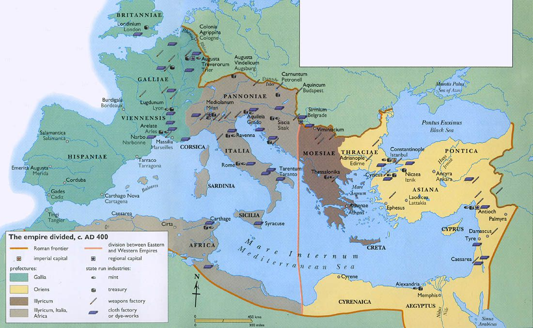 eastern roman empire map The Roman Empire Explained In 40 Maps Vox eastern roman empire map