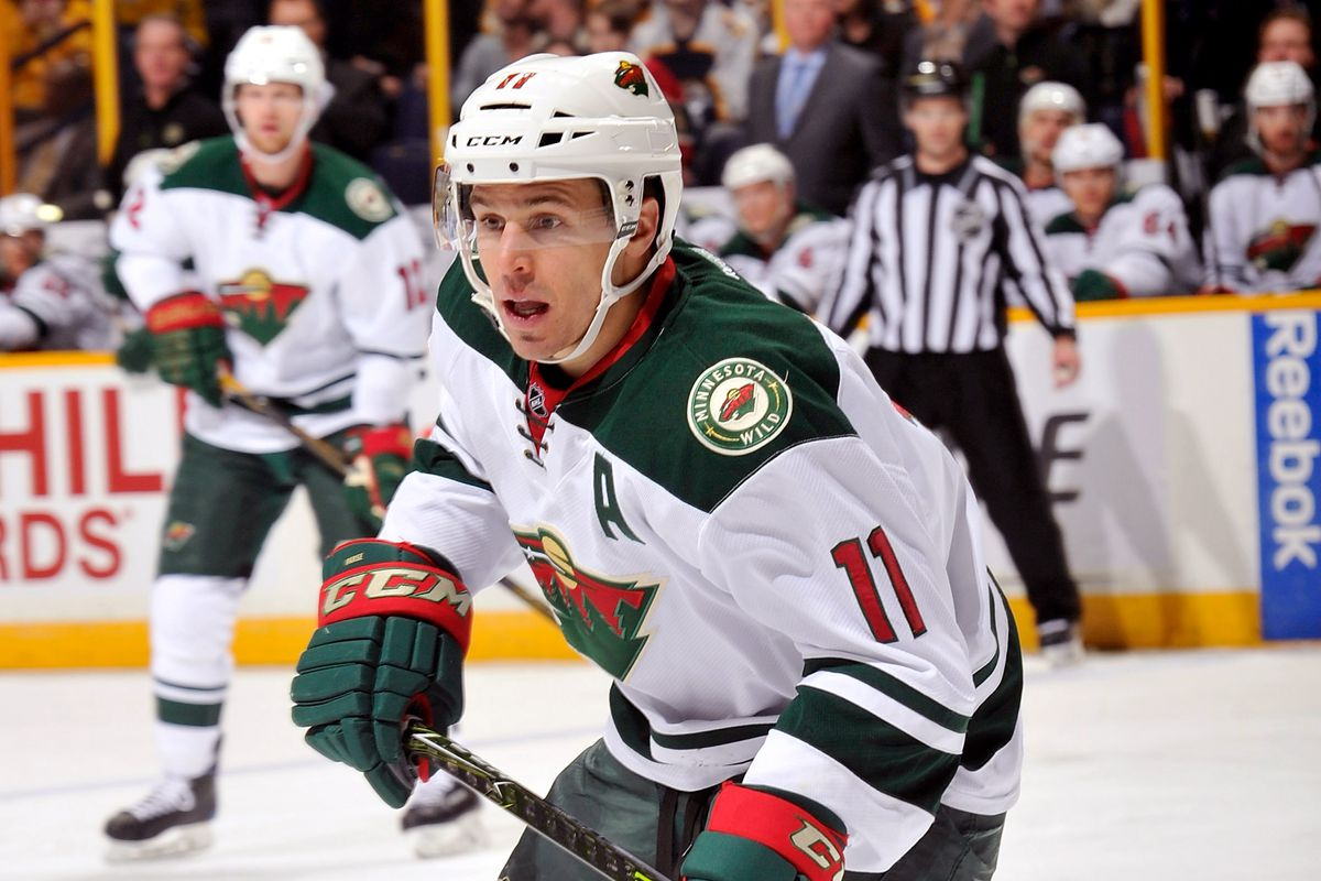 While held without a goal, Zach Parise was a big part of the Wild's 2-1 victory over Anaheim.