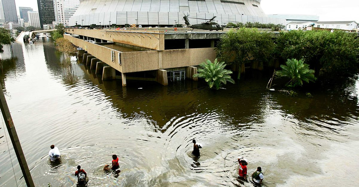 Imagine Hurricane Katrina during a pandemic. The US needs to prepare for that — now.