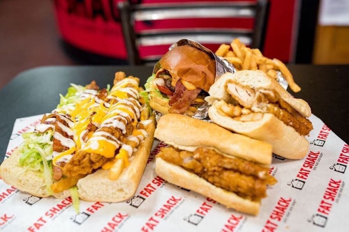 Burgers, fries and Fat Shack sandwiches stuffed with chicken fingers, coming to Silverado Ranch.