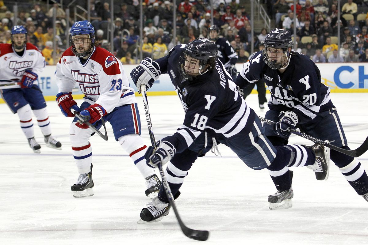 Yale sophomore Kenny Agostino could be a difference maker in tonight's national championship game.