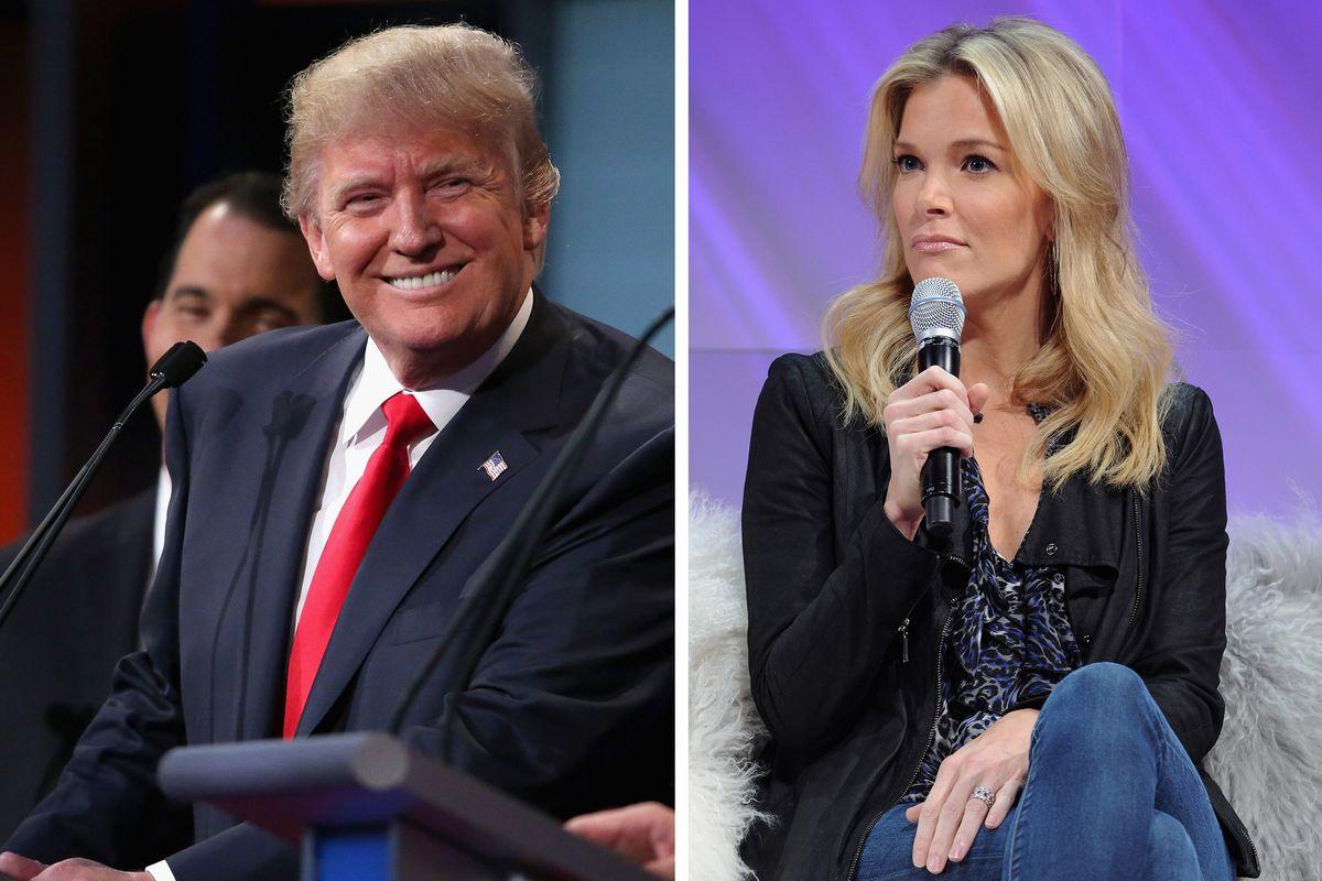 (FILE PHOTO) Donald Trump Vs Megyn Kelly